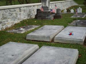 Veterans' tombstones, 2011