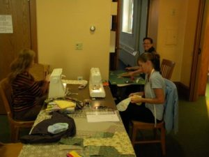 sewing for area nursing homes
